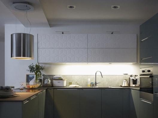 Eclairage sur evier cuisine