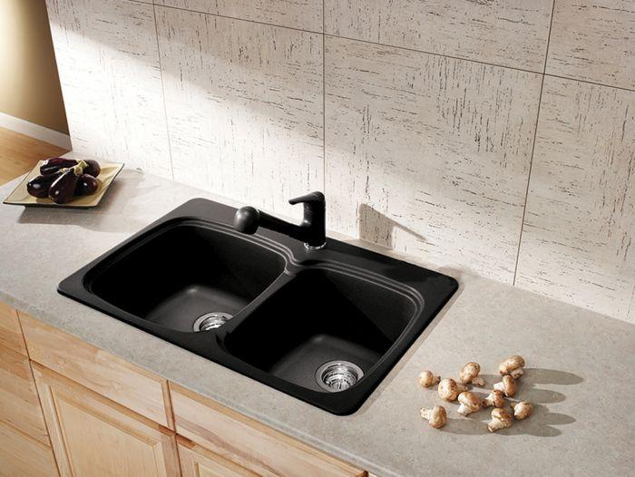 Evier de cuisine en granite
