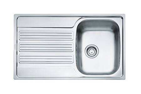 Evier inox nid d abeille 1 grand bac