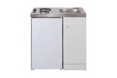Meuble évier frigo plaque cuisson