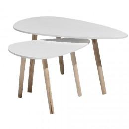 Table Basse Scandinave Duo Emberizaone Fr