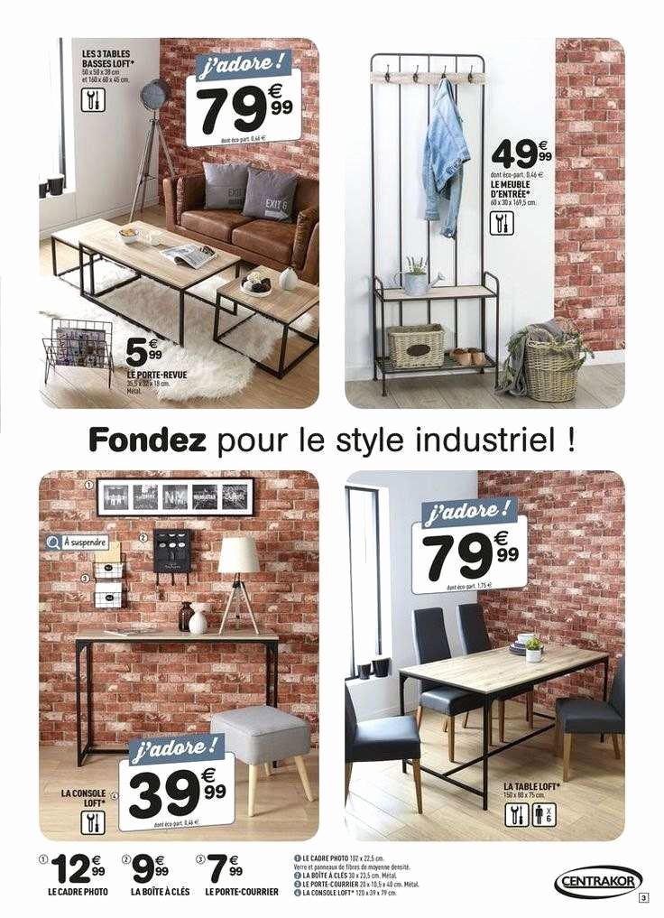 Table Basse Style Scandinave Centrakor Emberizaone Fr
